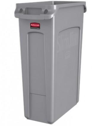 Poubelle Slim Jim 60,6 L - Gris