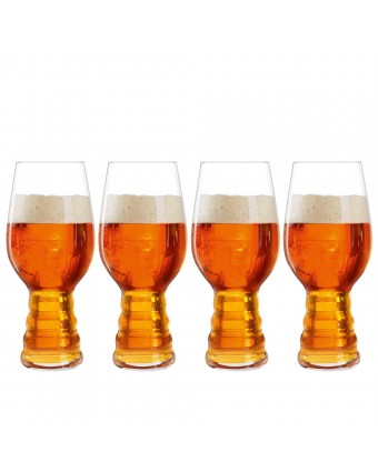 Ensemble de quatre verres à bière IPA 19 oz
