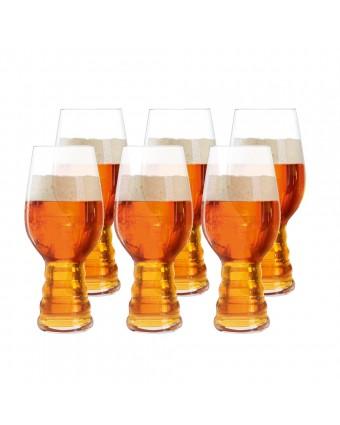 Ensemble de six verres à bière IPA 19 oz