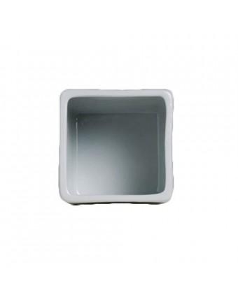Ramequin carré en porcelaine 1 oz