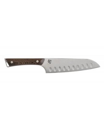 Couteau Santoku alvéolé 7'' - Kanso