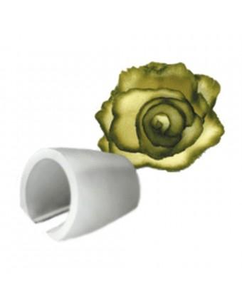Taille-légumes en fleur, large
