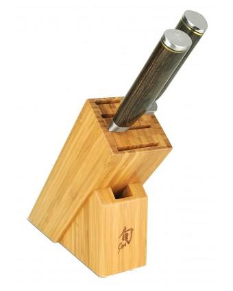 Ensemble de couteaux trois pièces avec bloc - Premier