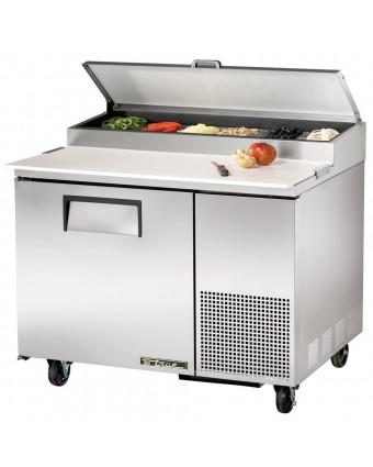 """Table de préparation réfrigérée une porte 44"""" - 12 récipients"""