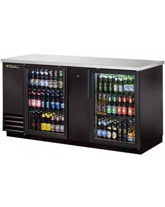 """Réfrigérateur à bière deux portes vitrées 69"""""""