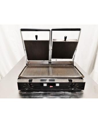 Grille-panini à nervures double - 3100 W (endommagé)