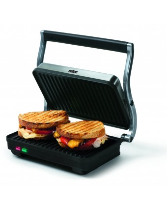 Grille-panini à nervures - 1000 W