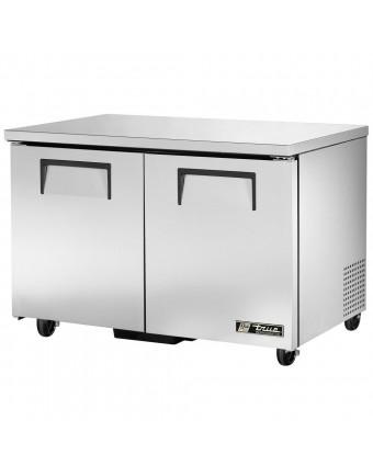Réfrigérateur sous-comptoir deux portes pleines 12 pi³