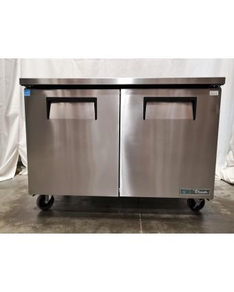 Réfrigérateur sous-comptoir deux portes pleines 12 pi³ (endommagé)
