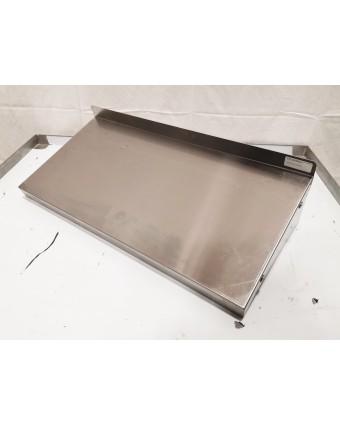 """Tablette murale en acier inoxydable 24"""" x 12"""" (endommagé)"""
