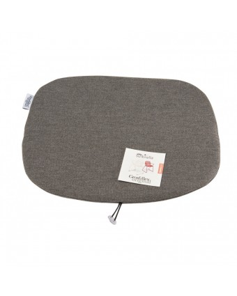 Coussin Ramatuelle 73' - Chine gris
