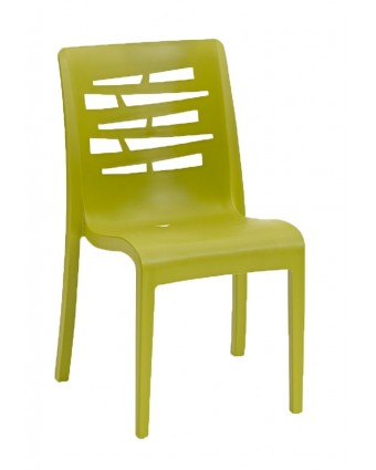 Chaise en résine Essenza - Vert fougère