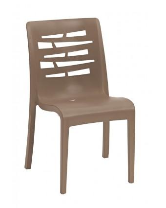 Chaise en résine Essenza - Taupe