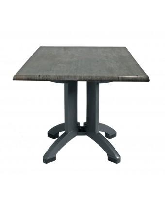 """Table d'extérieur carrée Atlanta 32"""" - Granit"""