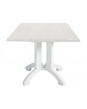 """Table d'extérieur carrée Atlanta 32"""" - Blanc"""