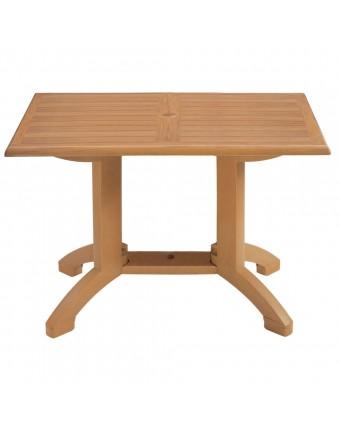 """Table d'extérieur rectangulaire Winston 32"""" x 48"""" - Teck"""