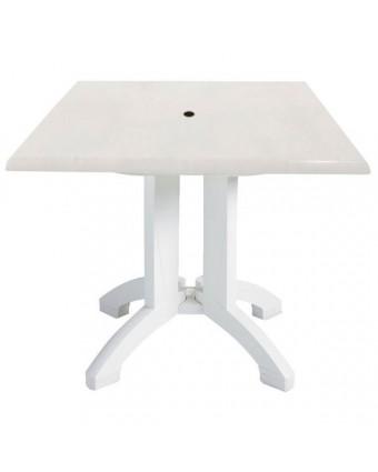 """Table d'extérieur carrée Atlanta 36"""" - Blanc"""