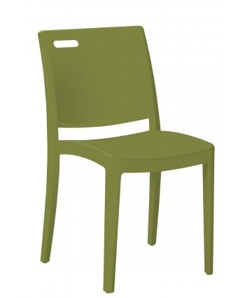 Chaise d'extérieur Metro – Vert cactus