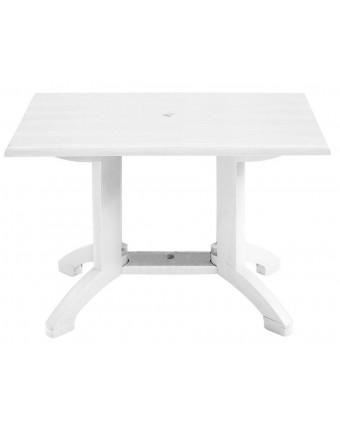 """Table d'extérieur rectangulaire Atlanta 32"""" x 48"""" - Blanc"""