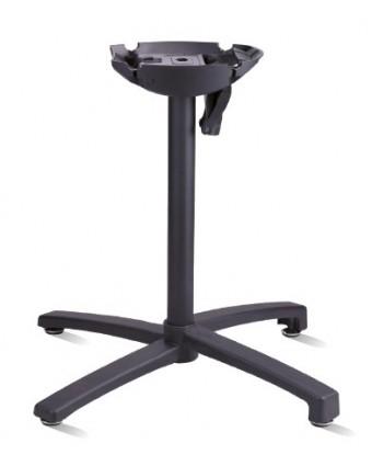 Base de table à tête inclinable - Noir