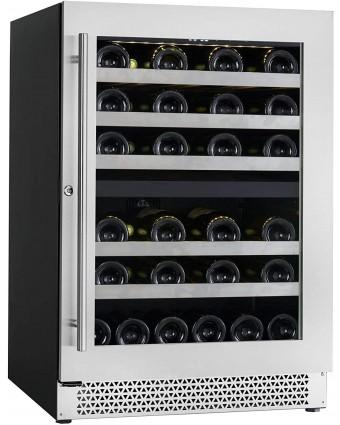 Refroidisseur à vin à deux zones Vinoa - 41 bouteilles