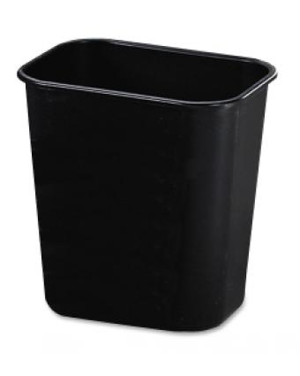 Poubelle rectangulaire 12,3 L - Noir