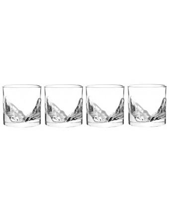 Ensemble de quatre verres à whisky 10 oz - Grand Canyon