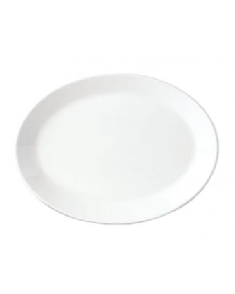 """Assiette de service ovale 12"""" - Simplicity"""