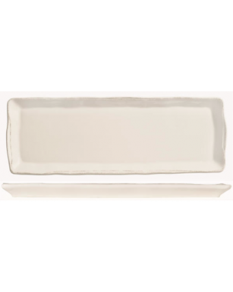 "Assiette de service rectangulaire 16"" x 5,75"" - Farmhouse"