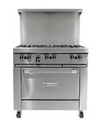 "Cuisinière au gaz propane 36"" - 188 000 BTU"