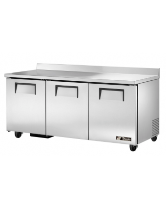 Réfrigérateur trois portes pleines avec dosseret 19 pi³ (endommagé)