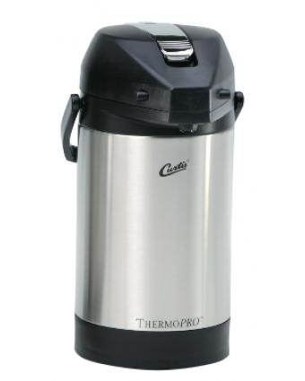 Thermos à café en acier inoxydable à levier 2,5 L