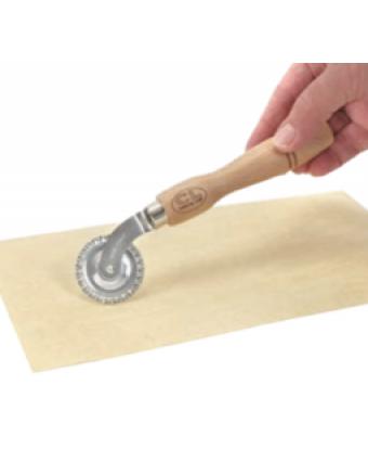 Coupe-pâtes à roulette en acier inoxydable