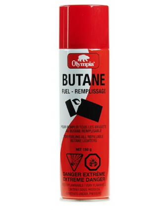 Recharge de butane 150 g