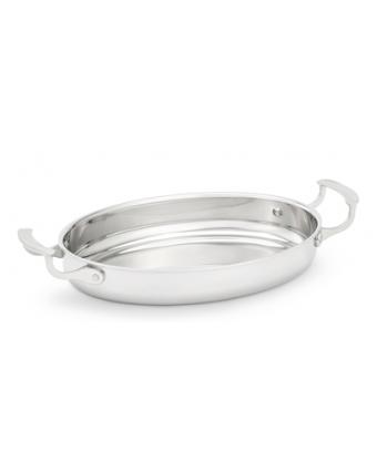 Plat de cuisson en acier inoxydable Miramar 1,7 L