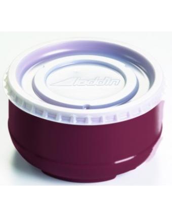 Bols en plastique isolants 8 oz - Mauve (caisse de 48)