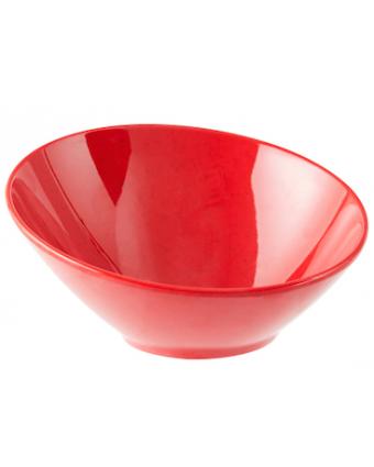 Bol rond en mélamine 10 oz - Red Sensation