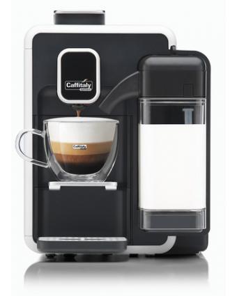 Machine à café à capsules Cappuccina - Blanc