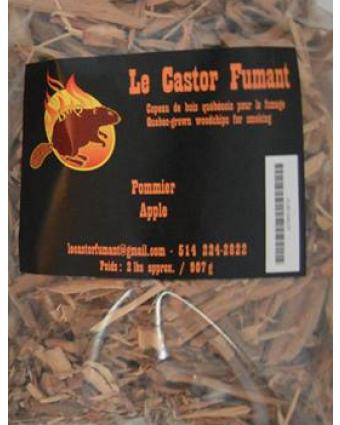 Copeaux de bois de pommier - 2 lb