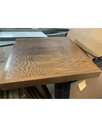 Dessus de table carré - Bois (usagé)
