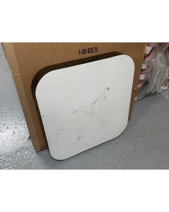 Dessus de table carré - Blanc (usagé)