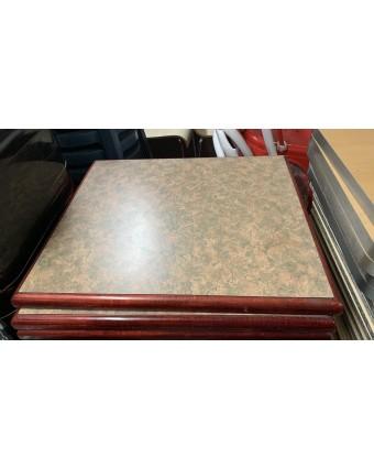 Dessus de table rectangulaire - Motif (usagé)