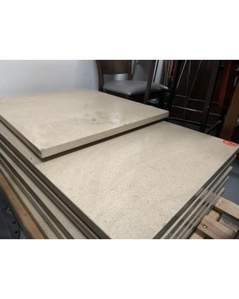 Dessus de table rectangulaire - Beige (usagé)