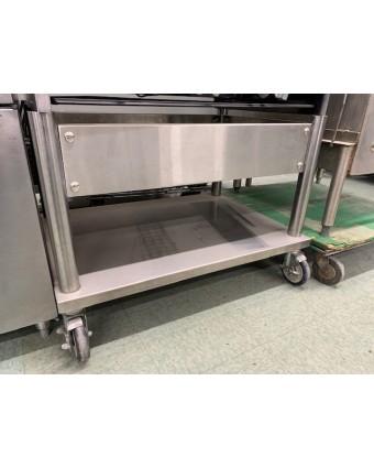 Base mobile pour plaque à frire (usagée)