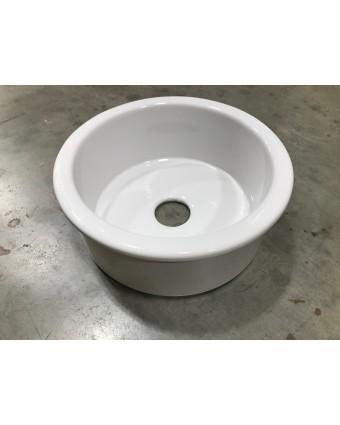 Évier en céramique rond (usagé)