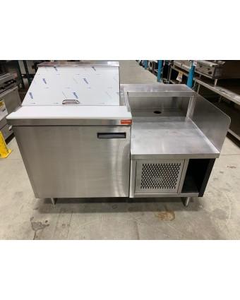 Table de préparation réfrigérée et base à équipement (usagée)