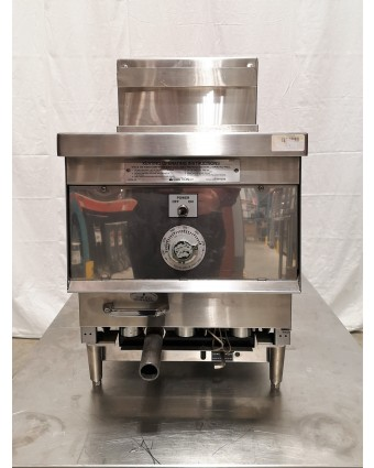 Friteuse de comptoir au gaz naturel (usagée)