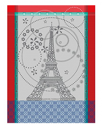 """Linge à vaisselle 22"""" x 30"""" - Tour Eiffel Fer"""