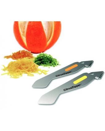 Pèle-agrume et zesteur CitrusZipper