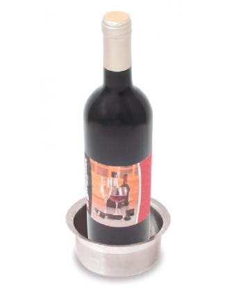 Sous-bouteille pour bouteille de vin en acier inoxydable